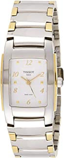 Tissot Women's White Dial Stainless Steel Band Watch