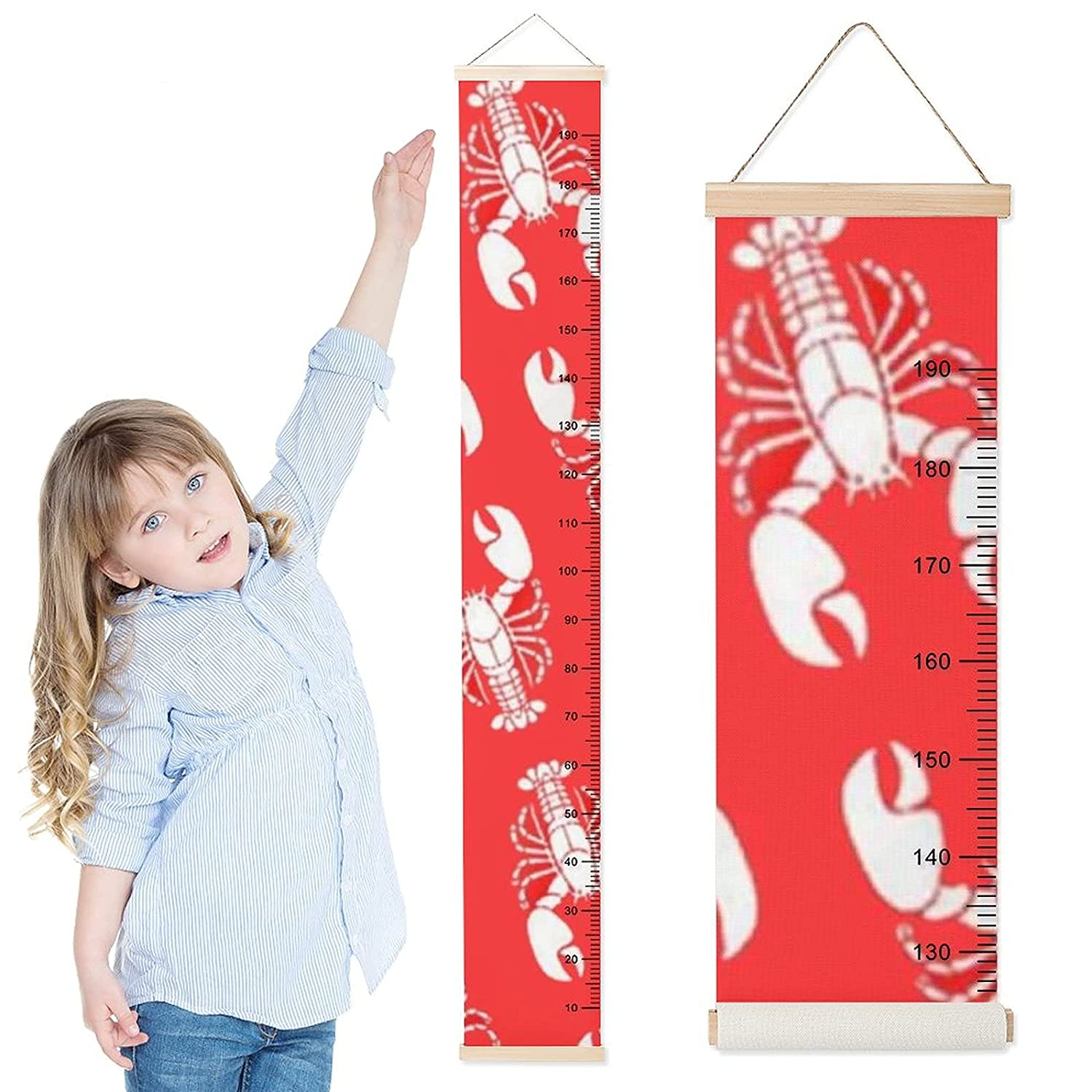 Growth Chart for San Antonio Mall Kids Cute Japan Maker New Lobsters Measurement Children Height