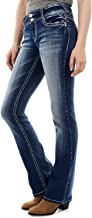 WallFlower Women's Instastretch Luscious Curvy Bootcut Jeans