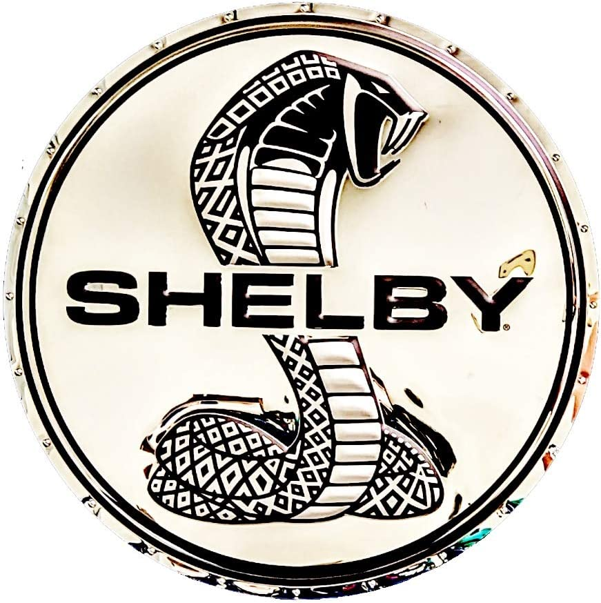 Courier shipping free SR1 Performance Shelby Selling rankings Super Snake Ha Wall Badge Steel Stainless