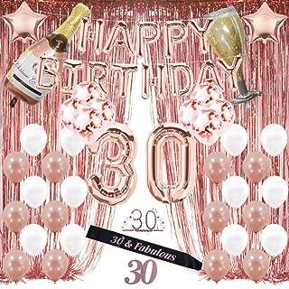 Drunk since 1989 Glitter Cake Topper 30th Birthday Decoration Thirtieth Birthday