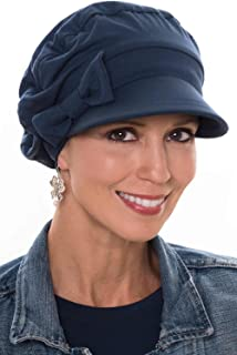 Versatility Newsboy Hat-Caps for Women with Chemo Cancer Hair Loss