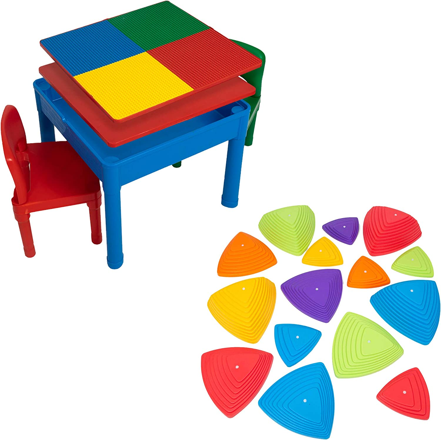 Play Ranking TOP2 Platoon Kids Activity Table Set 5 Save money Water - 1 Build in