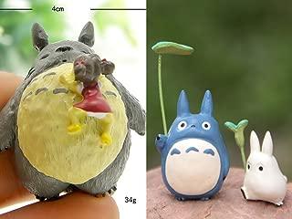 zZZ My Neighbor Totoro Holding Leaf sleepping Mei Resin Craft Action Figure DIY Micro Landscape Gardening