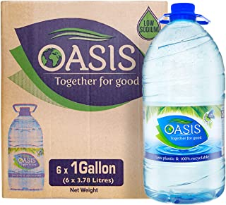 Oasis Still Water - 3.78 litres (Pack of 6)