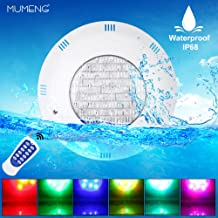 20W Foco LED RGB con Control Remoto para Piscinas Multicolor Sumergible Iluminaci/ón IP68 Impermeable,12V AC 2 Focos LyLmLe L/ámpara Piscina PAR56