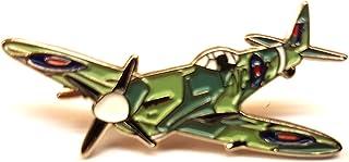 Spilla in metallo, modello aereo Spitfire capitano della RAF
