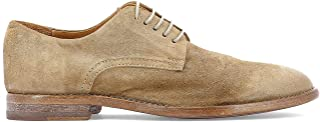 MOMA Women's 39901439OLIVERTAUPE Beige Suede Lace-Up Shoes