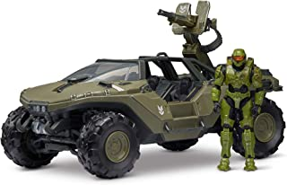 """Halo 4"""" """"World of Halo"""" Deluxe Vehicle and Figure Pack – Warthog with Master Chief"""