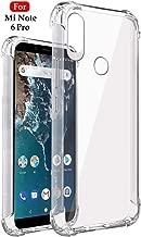 Jkobi Silicone Back Cover for Redmi Note 6 Pro - Transparent