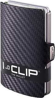 I-CLIP ® Cartera Carbon, Metallic-Grey (Disponible En 2 Variantes)