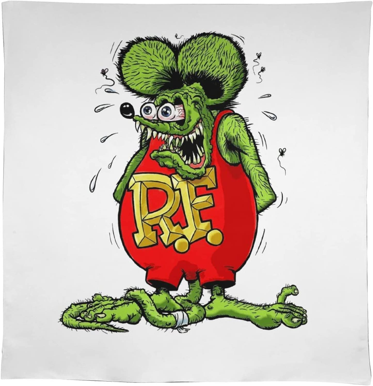 Rat Fink Rectangle Square and Spill-Proof Don't miss the campaign New arrival Tablecloth Oil-Proof