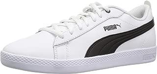 white pumas with black stripe
