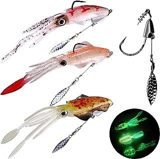10Pcs//Set Red Jig Heads Underspin Swimbait Hooks with Luminous 3D Eyes Life-Like Fishing Jigs
