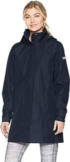 Helly Hansen Women's Aden Waterproof Breathable Hooded Long Rain Jacket