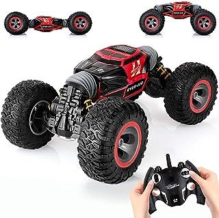 KingsDragon Remote Control Car,2.4 GHZ High Speed Stunt RC Racing Cars RC Rock Crawler w/...