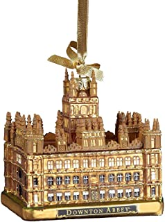 Downton Abbey Kurt Adler Downtown Abbey Castle Glass Ornament, 4.25-Inch