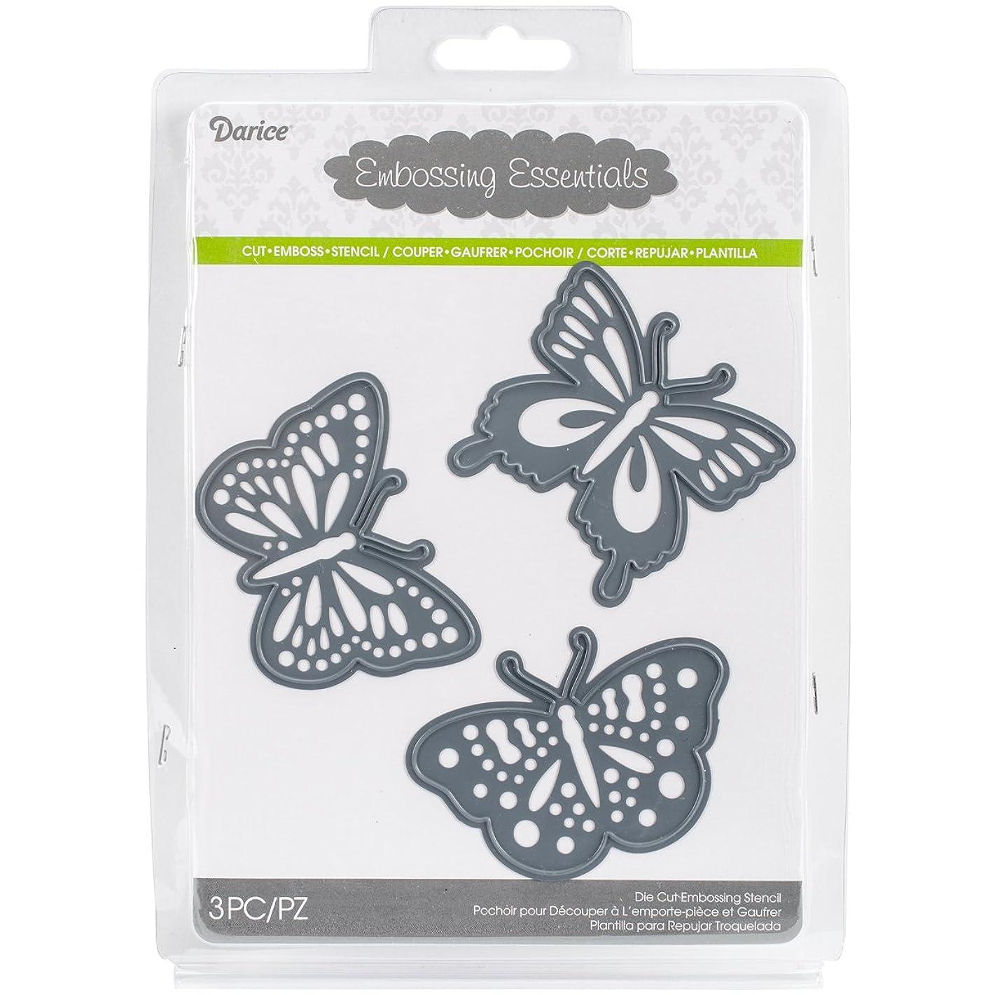 Darice 2014-104 Embossing Essentials Dies-Butterflies