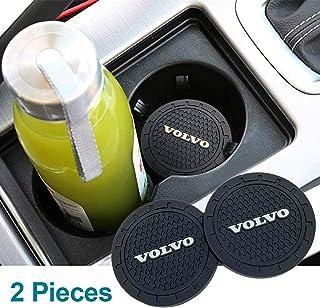 Porta-copos para automobilismo ajuste Volvo porta-copos de 7,95 cm, porta-copos de 7,95 cm, acessórios de carro resistente...