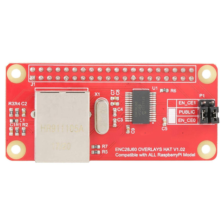 ENC28J60 Ethernet Adapter LAN Network Adapter Module Wireless Ethernet Network Module for Raspberry Pi Zero Board