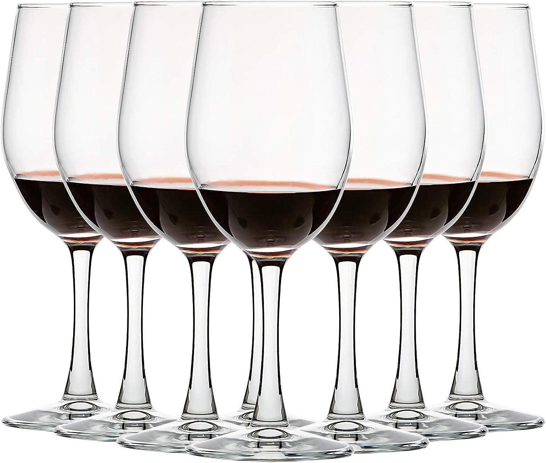 Set of Sale price 8 12 NEW Ounce All-Purpose Lead Classi Glasses Wine Free