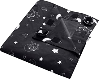 Tommee Tippee Sleeptime Portable Baby Travel Blackout Blind, Black, Large