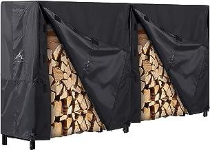 Himal Outdoor Firewood Racks Cover Log Rack Waterproof Firewood Cover Fit 8FT Wood Rack