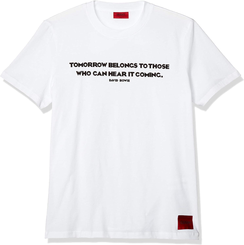 HUGO Camiseta para hombre Domorrow