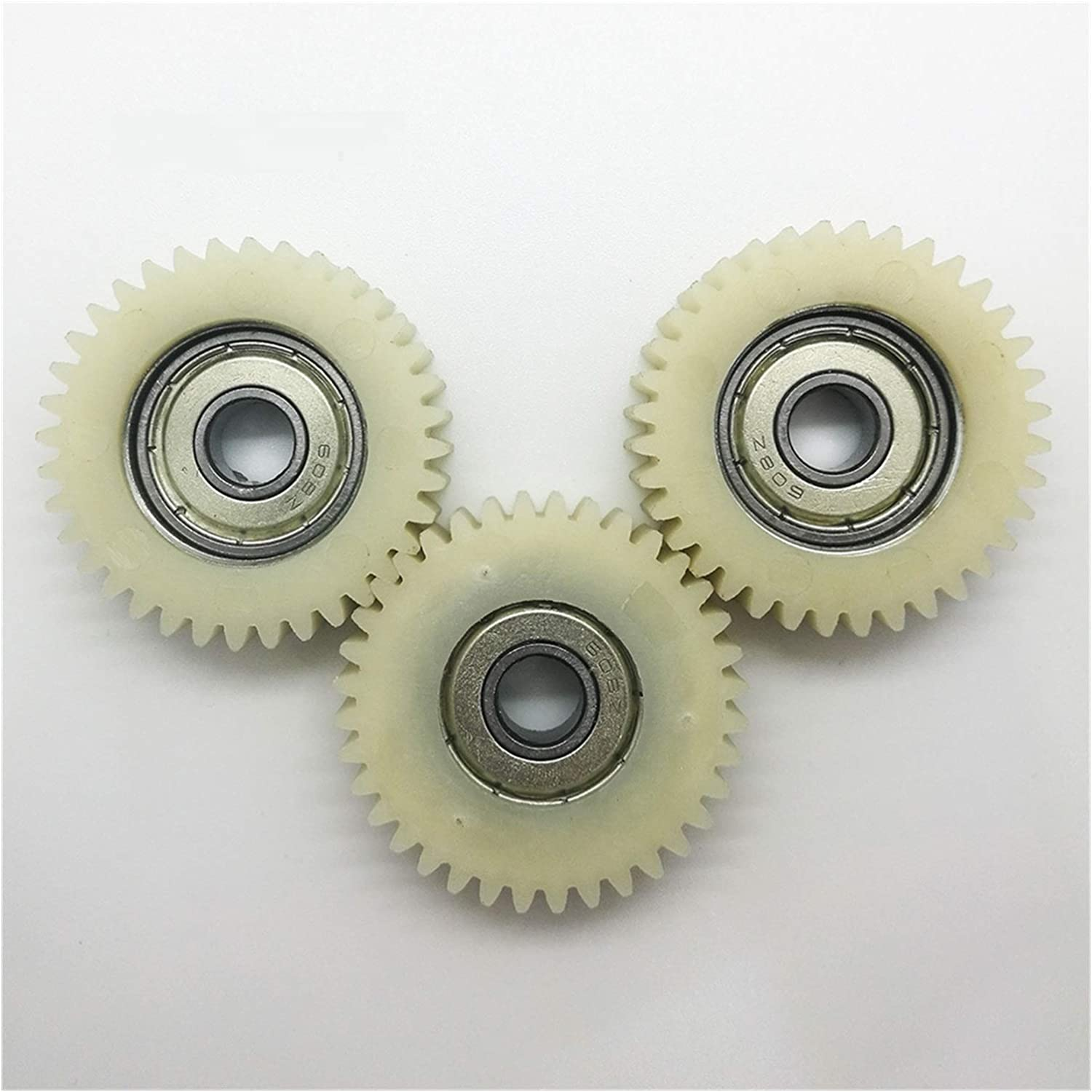 TONGCHAO Tchaogr 3pcs Excellence Gears 38mm Credence 36 8mm Bore Hole Nylon 60 Teeth