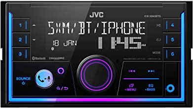 JVC KW-X840BTS Bluetooth Car Stereo Receiver with USB...