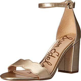 47dfcbbeadd Amazon.com: Gold - Heeled Sandals / Sandals: Clothing, Shoes & Jewelry