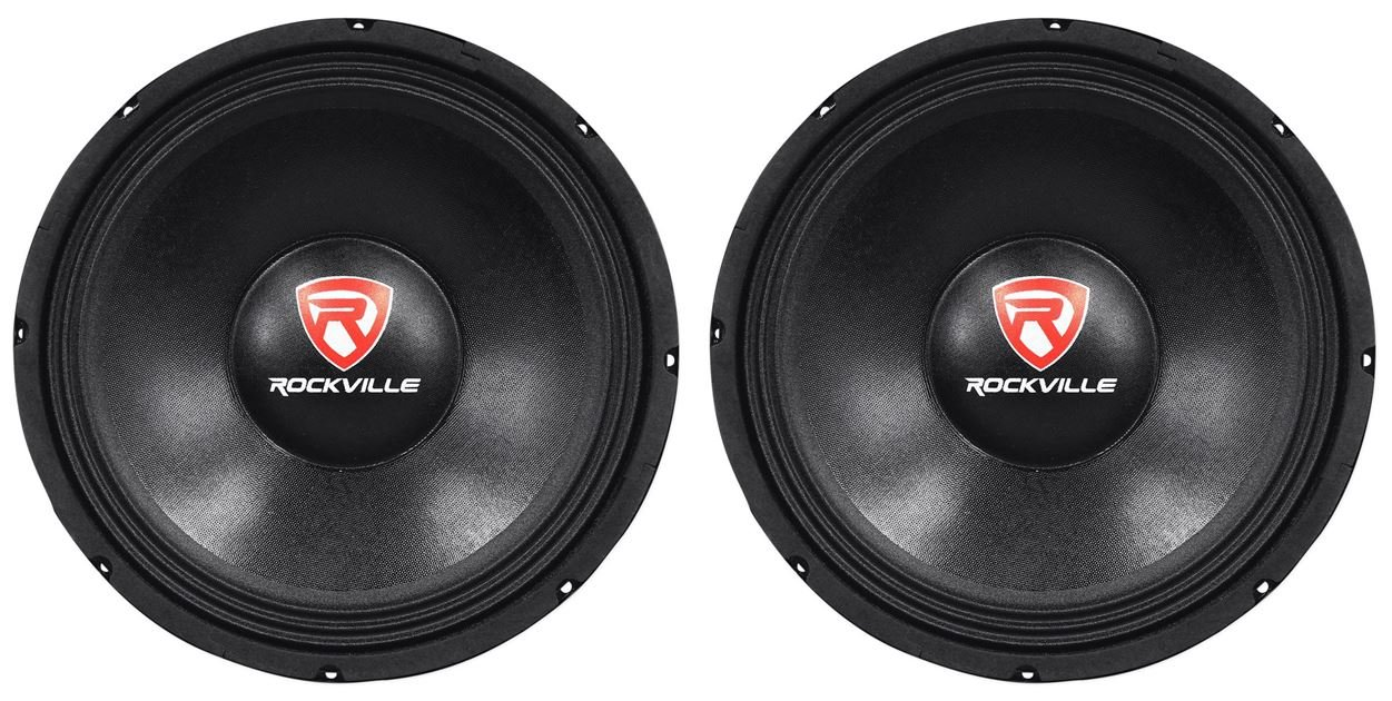 Rockville RVP12W8 Subwoofers Woofers Magnets