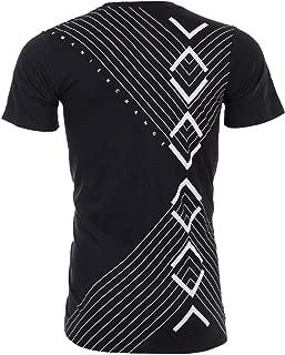 Armani Exchange Inverted Mens T-Shirt Premium Slim Fit Black Casual Designer