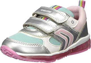 Geox B Todo Girl B, Sneakers Basses Fille