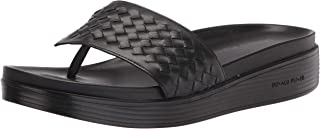 Donald J Pliner Women's Sandal, Black, 9