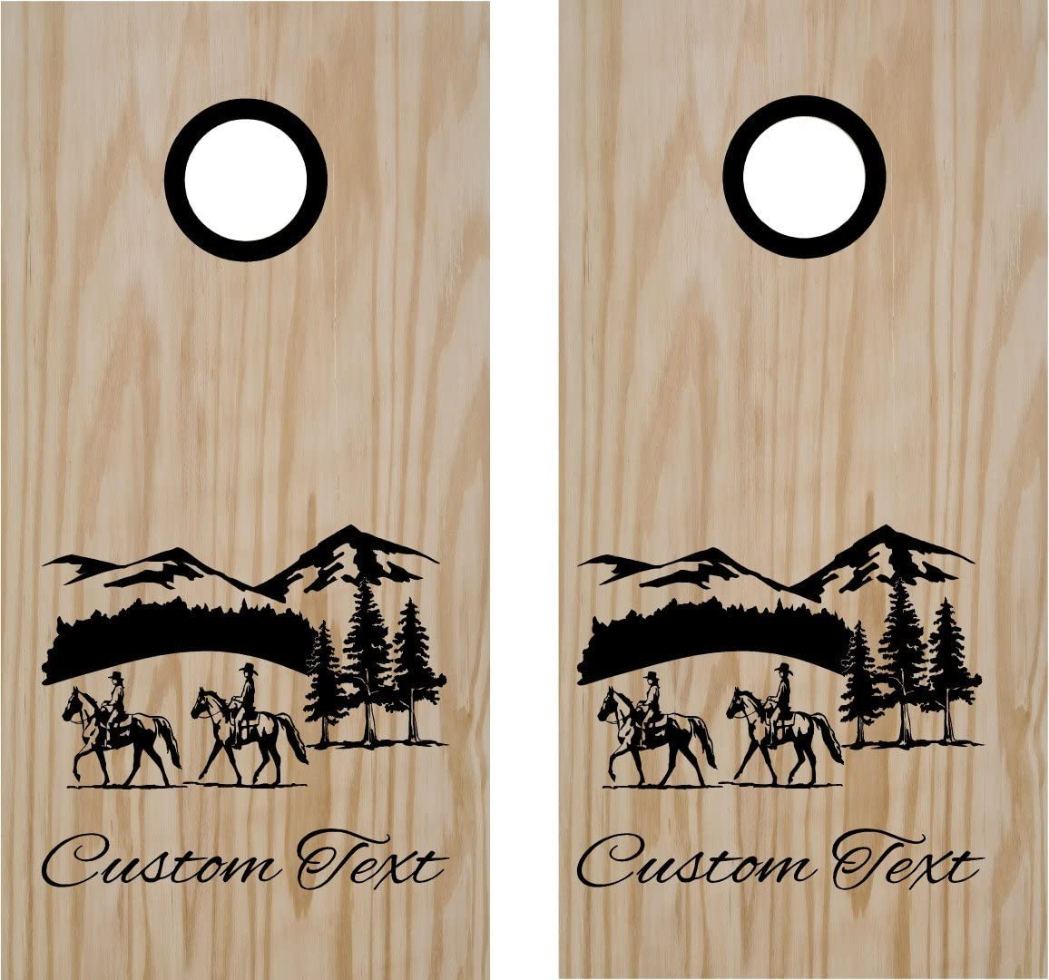 StickerChef Large special price Thoroughbred Equestrian Horse B Back Max 75% OFF Cornhole Riding