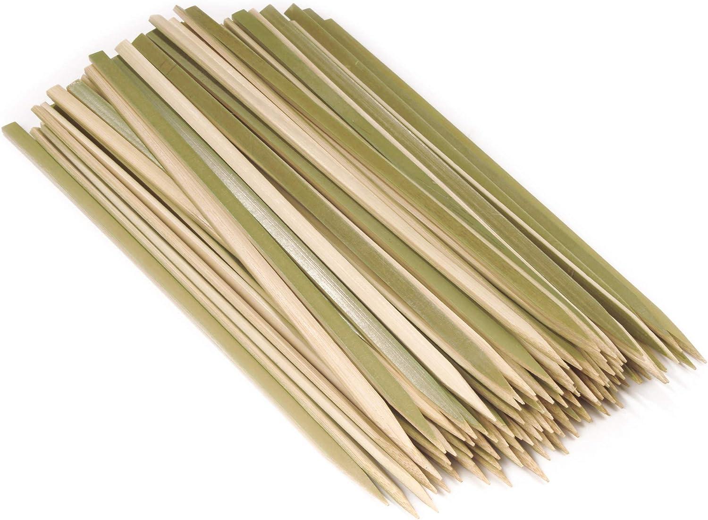 BambooMN Brand - Fees Ranking TOP11 free Premium Flat Style BBQ Bamboo Wood a Kebab Meat