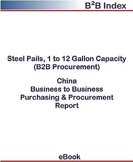 Steel Pails, 1 to 12 Gallon Capacity (B2B Procurement) in China: B2B Purchasing + Procurement Values
