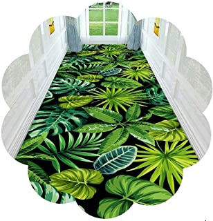 HAIPENG Cuttable Hallway Runner Rug with Non Slip Back, Abstract Entrance Mat Perfect for Hall Staircase Kitchen, 70cm/90c...