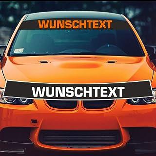 Pegatina Wunschtext + Blendstreifen mit Vorschau selber gestalten   Autoaufkleber Bremsen Wunschname Tuning Aufkleber