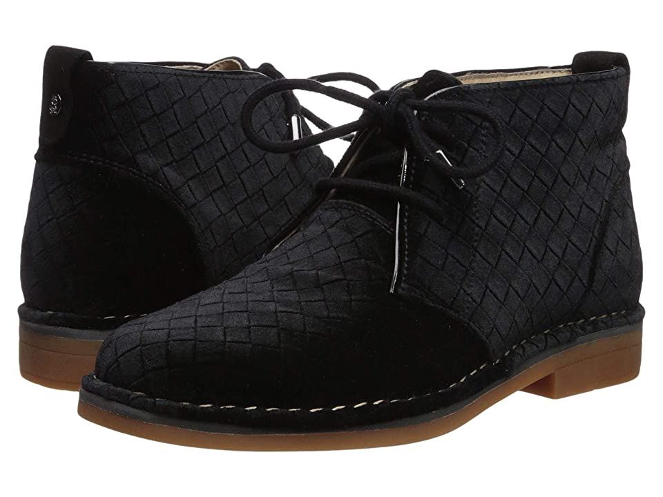 Hush Puppies Cyra Catelyn (Black Basket Velvet) Women