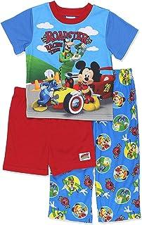 Disney Boys` Mickey Mouse 3-Piece Pajama Set