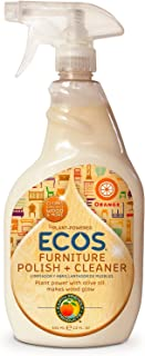 Earth Friendly Products ECOS Furniture Polish with Olive Oil, 22 oz (Pack of 2)