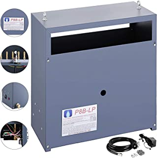 Mophorn Autopilot CO2 Generator Liquid PropaneHigh Altitude Hydroponic Greenhouse CO2 8 Burner Generator LP Gas (8 Burner)