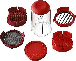 Kuhn Rikon 21350 Push Slicer, one size, red