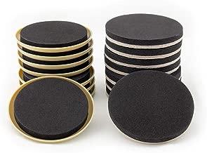 Furniture Moving Kit - Set of 16 Furniture Sliders, Coasters for Carpet and Hardwood, Tile Floor