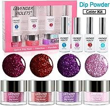 Dipping Powder Nail Kit Glitter Color Dip Mani 771