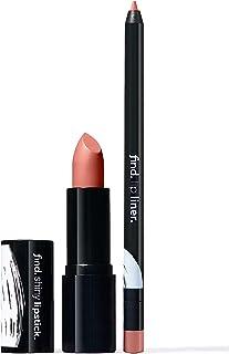 FIND - Absolute Elegance (Barra de labios brillante n.2 + Perfilador de labios n.1)
