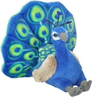 Wild Republic 13811 Peacock Plush, Cuddlekins Cuddly Soft Toys, Kids Gifts, 20 cm, Multi