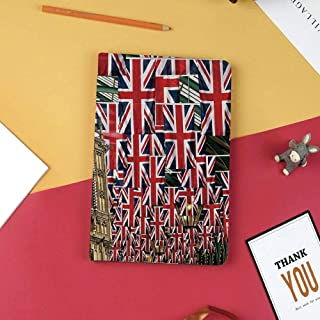 Cover Compatible for New iPad Mini 5th Generation 2019 Case,Frosted Back Protector Smart Case with Auto Wake/Sleep,Smart Cover Fit iPad Mini 5 2019,Union Jack,UK Flags Background with Big Ben Festive